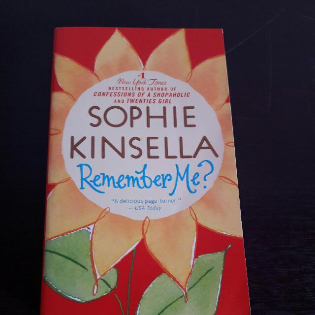 Sophie Kinsella Remember Me?