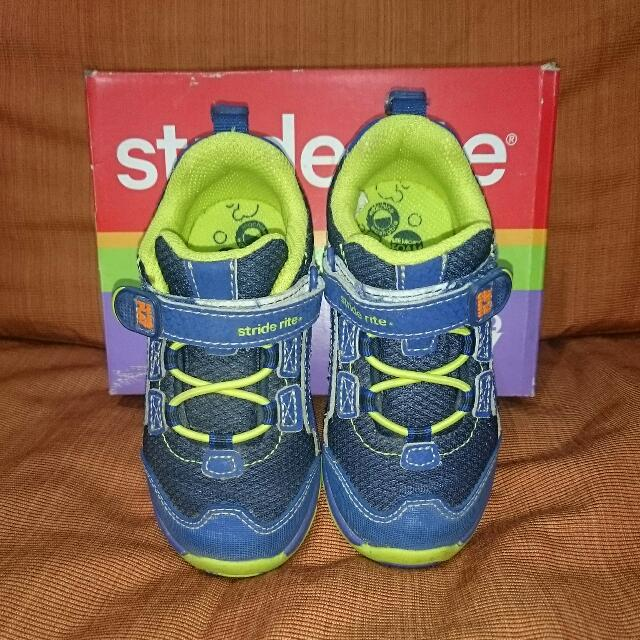Stride Rite Made 2 Play Machine Washable Rubber Shoes For Boys