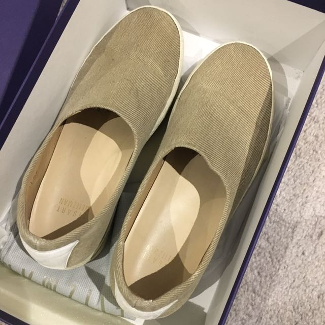 Stuart Weitzman Wardley Beige Slip On