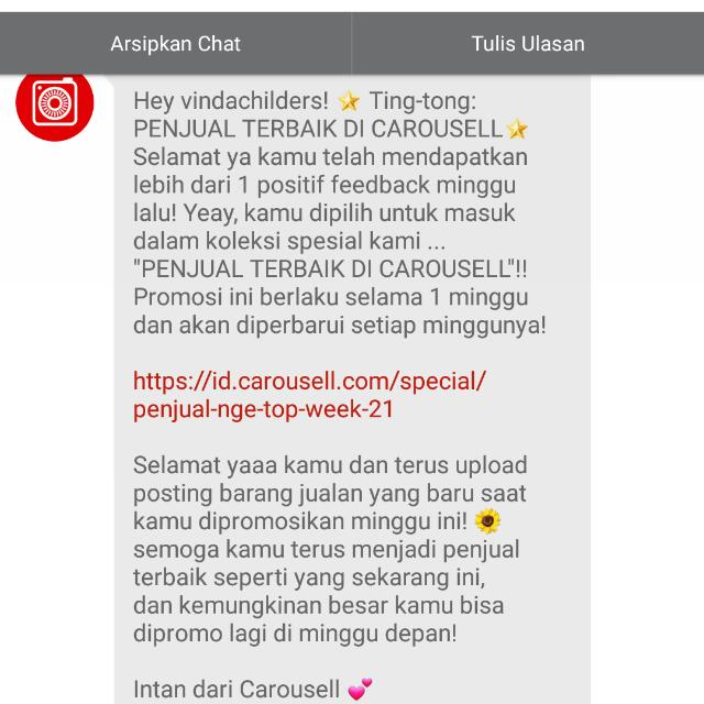 thank you very much caroussel