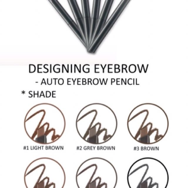The Face Shop Eyebrow Pencil Health Beauty Makeup On Carousell