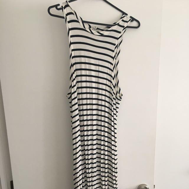 The Fifth Label Stripe Maxi Dress