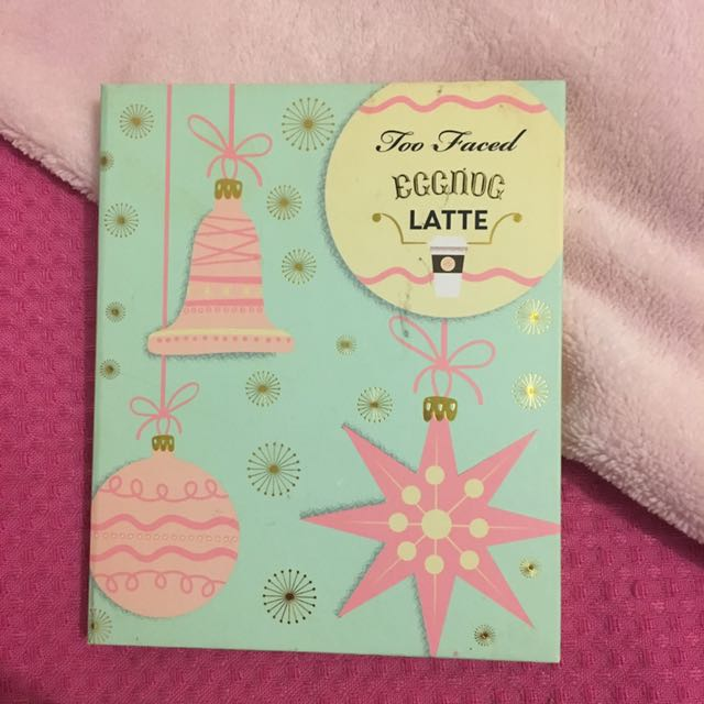 Too Faced Eggnog Latte