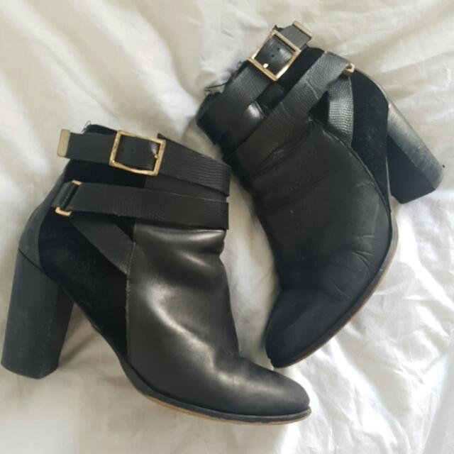 Topshop Healed Boots
