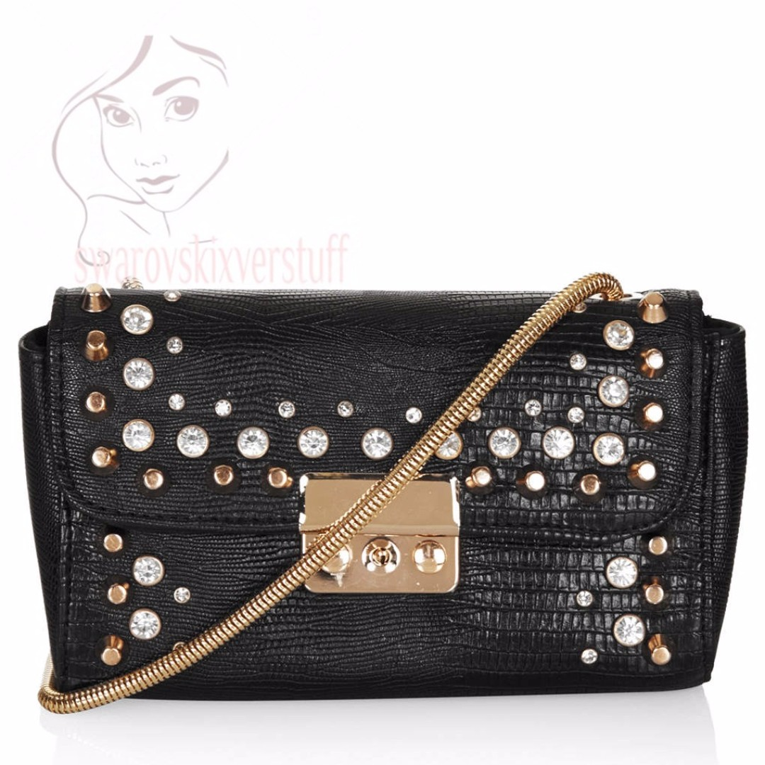 Topshop studded bag original