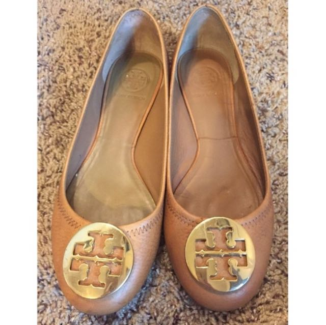 Tory Burch Flats Tan
