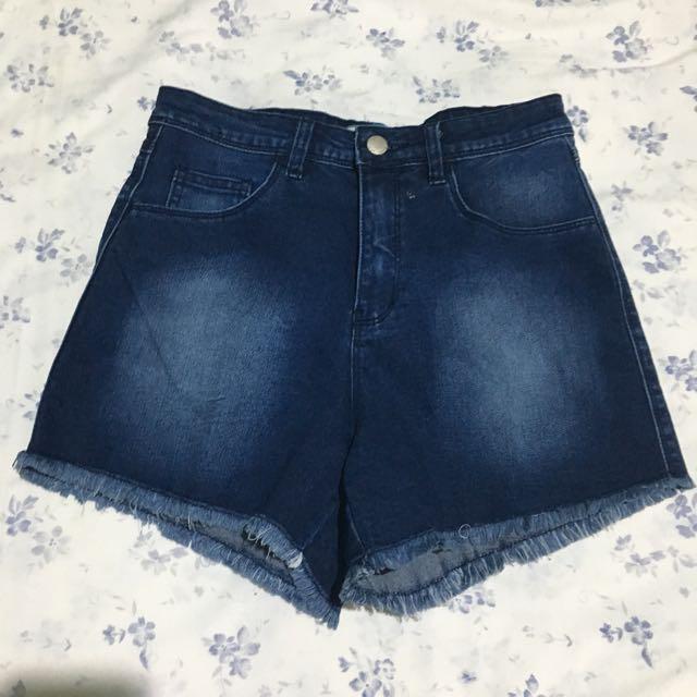 TrueLove Ripped Denim Shorts