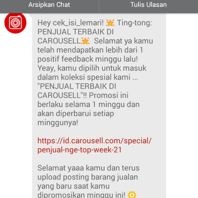 Trusted Seller..Tq Carousell