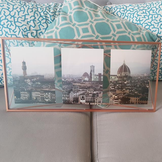 Umbra Rose Gold Photo Frame