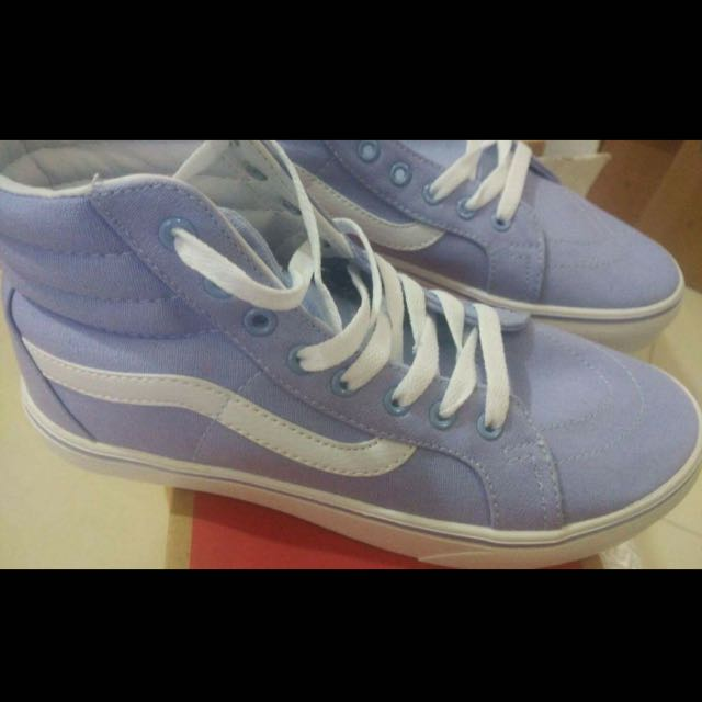 VANS old school Baby Blue