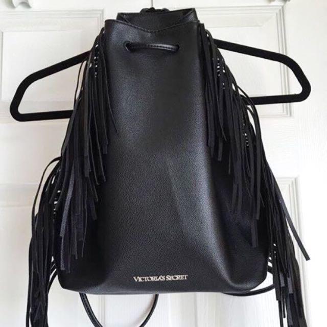 VICTORIA'S SECRET Leather Backpack