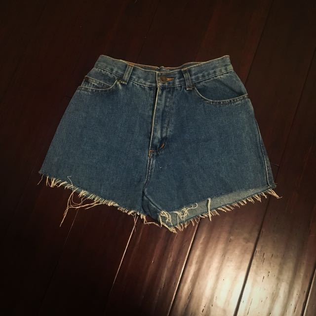 Vintage Blue Ridge Denim Shorts American Size 10/Aus 6