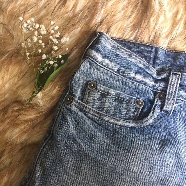 Vintage GUESS Distressed Jean Shorts