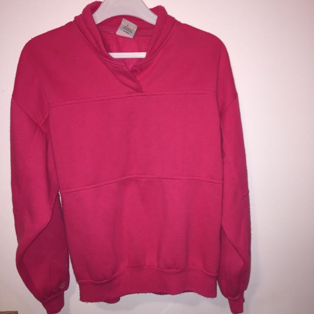 VINTAGE Pink Atheltic Sweater