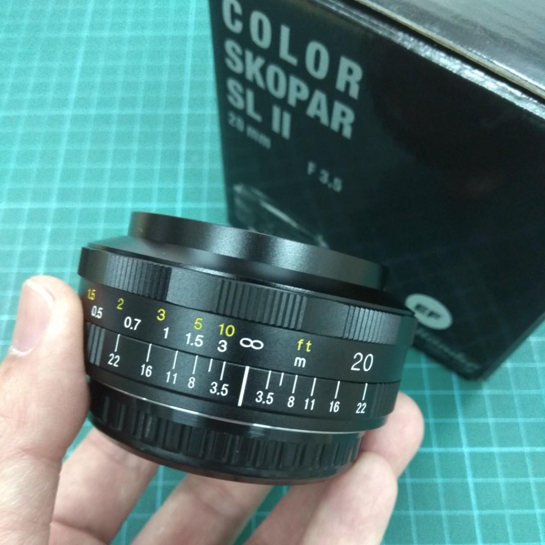 Voigtlander Color Skopar 20mm/f3 5 SL II EF Mount (Canon)