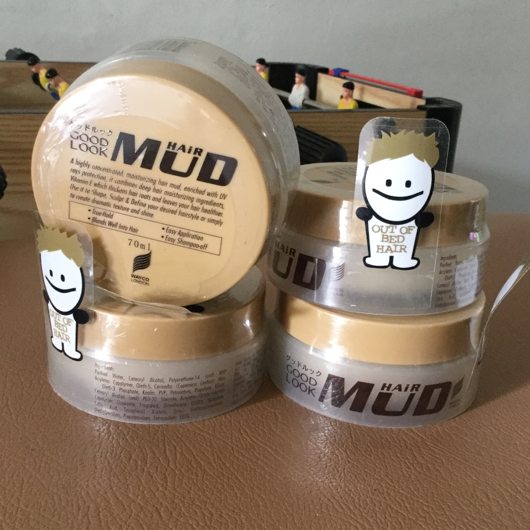 wax rambut Hair Mud