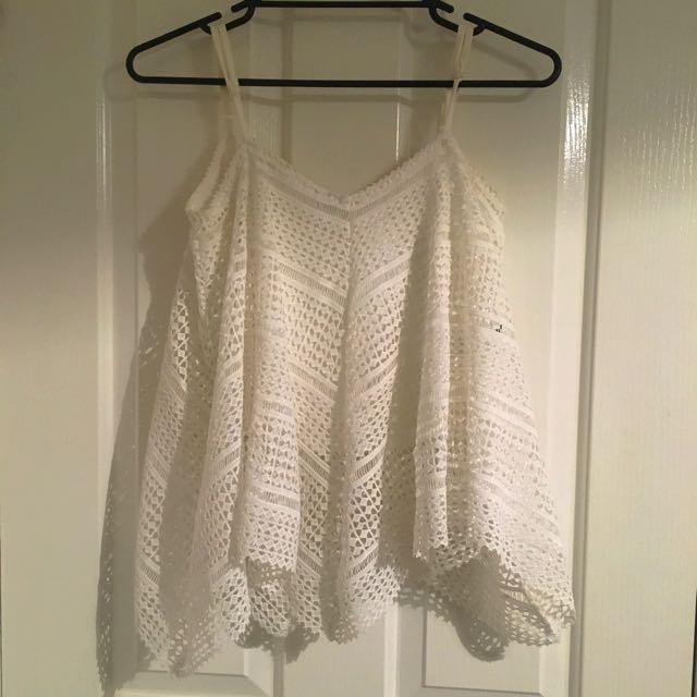 White X Small Refuge Top