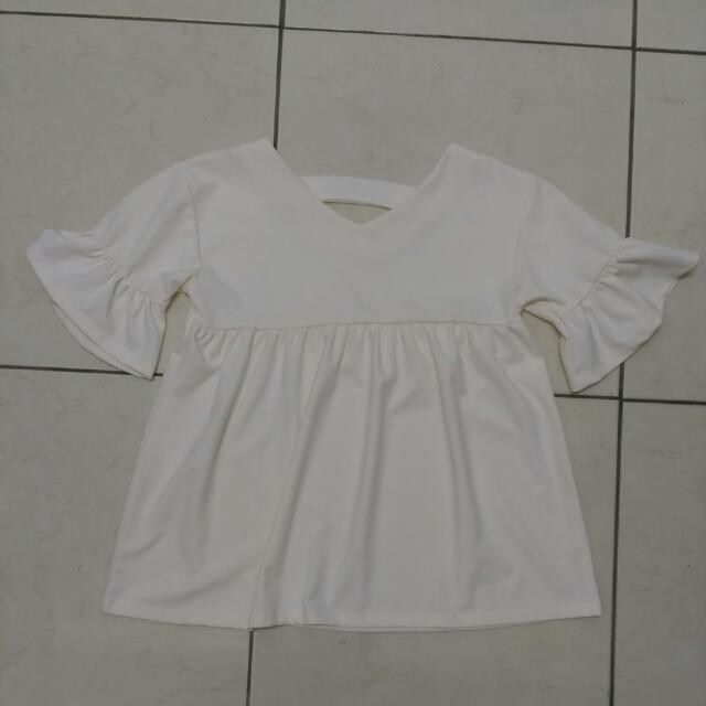 🗿特價↗XOXO 荷葉袖超Q洋裝