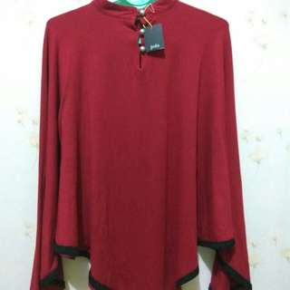 Kaos, Red Collour By Jeda Collection