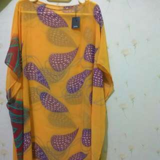 Blouse Yellow Sifon jeda Collection