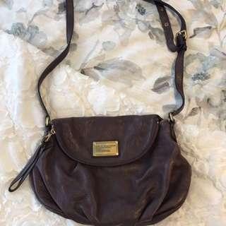 Marc Jacobs Bag 💜 purple leather shoulder bag/satchel