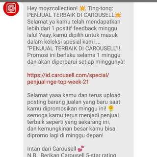 Thcx Carousell😘😘😘