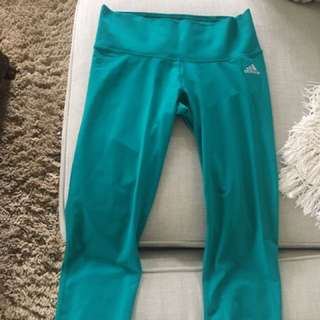 Adidas Climalite Cropped Workout Leggings