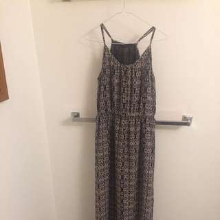 Forever 21 Maxi Tribal Pattern Dress