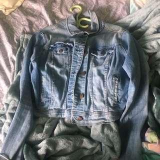 Vintage Jean Leather Jacket
