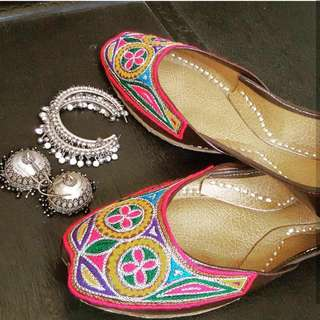 Colorful Khussa ( Flats)