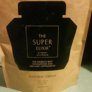 By WellCo - The SUPER Elixir - Alkalising Greens
