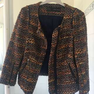 Tweed Zara Jacket XS