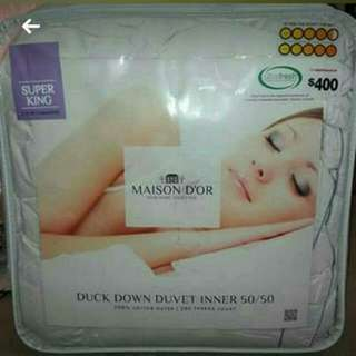 Duvet + Cover Set