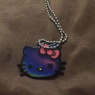Hello Kitty Mood Changing Necklace