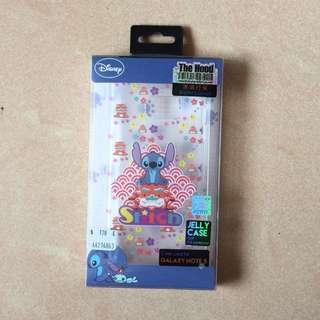 全新行貨 Note 5 史迪仔Stitch 透明軟膠電話殼 電話套