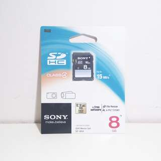 Sony 8GB SD Card
