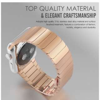 Apple Watch Link Bracelet 38mm Rose Gold