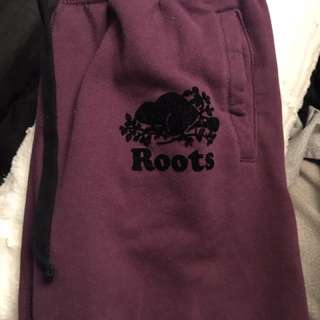 ROOTS Lilac Purple Sweat Pants