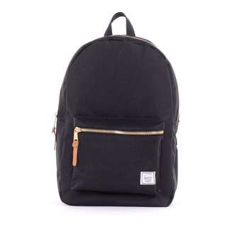 Herschel Settlement Backpack Gold And Black
