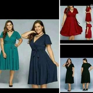 Plus Size Dress From Xl - Xxxl