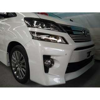 2014 Toyota Vellfire 2.4 (A) GOLDEN EYE Unreg