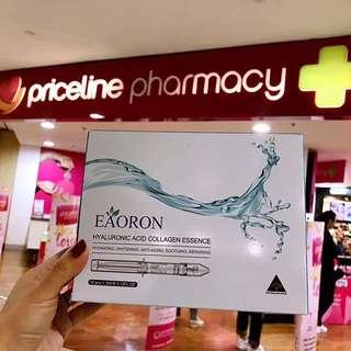 (Latest gen) 3ml Eaoron Hyaluronic Acid Collagen Essence