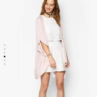歐美品牌純白洋裝S碼