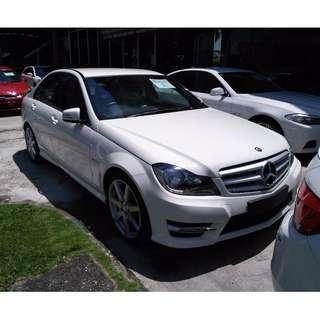 2013 Mercedes Benz C250 AMG UNREG (Include GST)
