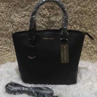 Charles & Keith Tote With Sling