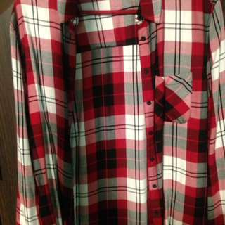 Plaid Flannel From Garage