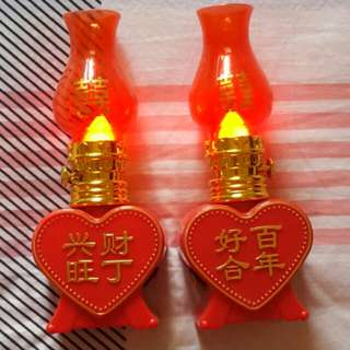 Lampu Wedding Chinese Baterai