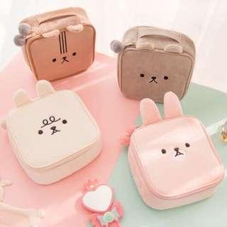 Rabbit Makeup Bag