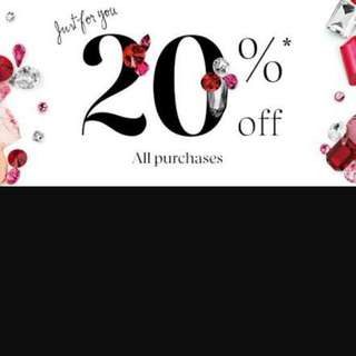 20% OFF EVERYTHING!!!!!