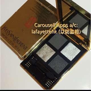 Ysl 4 Wet & Dry Eyeshadow-12 **紙盒有花